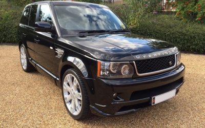 2010 RANGE ROVER OVERFINCH TDV8 SUPERSPORT 321 BHP WITH BRANDED INTERIOR PACKAGE