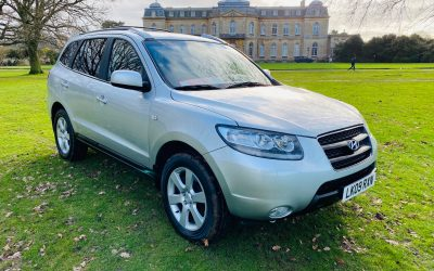 2009 LHD Hyundai Santa Fe 2.2CRTD (IV) 4X4 7 Seater Auto Limited LEFT HAND DRIVE
