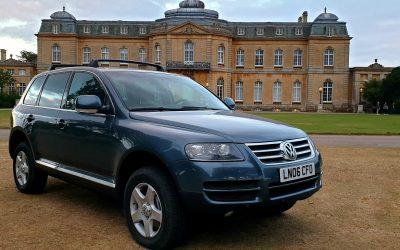 06 LHD VW TOUAREG 3.0 TDI V6, LEFT HAND DRIVE FULLY LOADED SATNAV FULL ELECTRICS **FULLY UK REGISTERED**