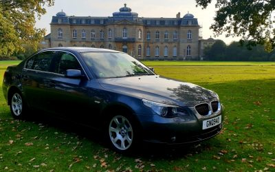 2005 LHD BMW 525d, AUTOMATIC, LEFT HAND DRIVE, ABSOLUTELY FULLY LOADED, HEAD-UP DISPLAY!