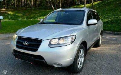 2009 LHD Hyundai Santa Fe 2.2CRTD (IV) 4X4 7 Seater Auto Limited LEFT HAND DRIVE
