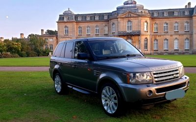 LHD 2008 RANGE ROVER SPORT 3.6TDV8 HSE, DIESEL, AUTOMATIC 4X4, LEFT HAND DRIVE