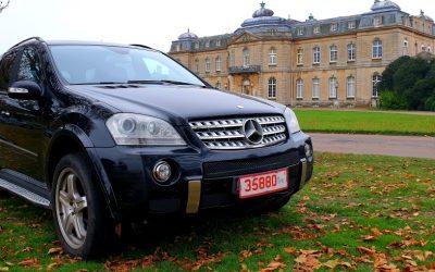 LHD 2008 MERCEDES ML280 CDI AMG SPORT, DIESEL, Auto, 4X4 LEFT HAND DRIVE