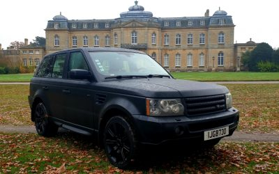 LHD 2006 RANGE ROVER SPORT 2.7 SE, DIESEL,AUTOMATIC 4X4, LEFT HAND DRIVE