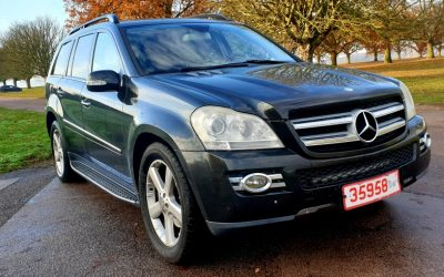 2007 LHD MERCEDES GL320 CDI, 3.0 V6, 4-MATIC, AUTOMATIC, 4X4, 7 SEATER, TURBO DIESEL, LEFT HAND DRIVE