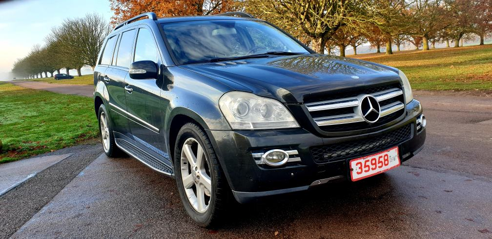 2007 LHD MERCEDES GL320 CDI, 3.0 V6, AUTOMATIC, 4X4, 7 SEATER, TURBO DIESEL, LEFT HAND DRIVE