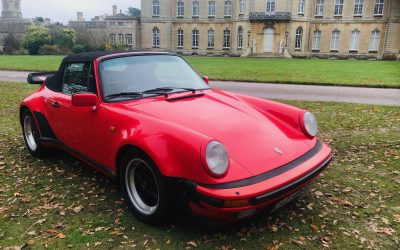 1986 Porsche Carrera Supersport Cabriolet Classic Car RHD