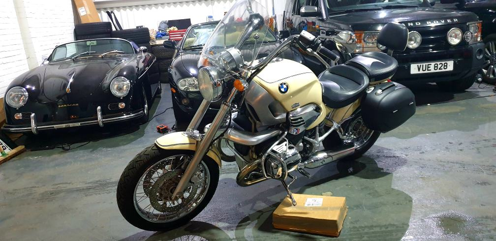 1998 BMW R1200C 'James Bond Bike' ONE OWNER FROM NEW