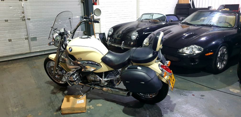 BMW R1200C 'James Bond Bike' ONE OWNER FROM NEW