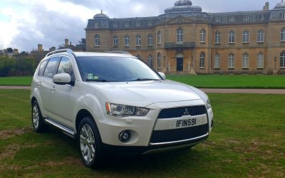 2010 LHD Mitsubishi Outlander 2.2 DI-D GX4 5dr SST, 7 Seater Auto 4×4, LEFT HAND DRIVE