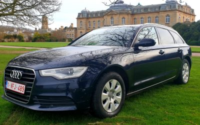 2013 LHD AUDI A6 2.0TDI ESTATE, START/STOP, 8 SPEED AUTO, LEFT HAND DRIVE