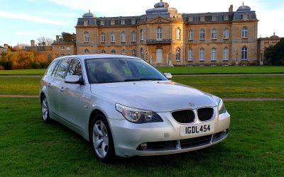 2006 LHD BMW 520D, AUTOMATIC, ESTATE / TOURING, LEFT HAND DRIVE