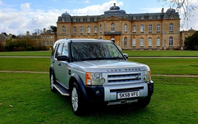 2009 (58) LAND ROVER DISCOVERY 3, 2.7 TDV6, DIESEL AUTOMATIC, 7 SEATER, 4X4.