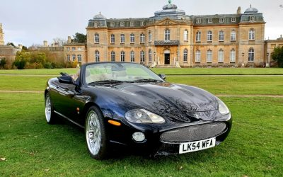 LHD 2004 JAGUAR XKR 4.2, AUTO CONVERTIBLE, UK REGISTERED, LEFT HAND DRIVE, 2 OWNERS