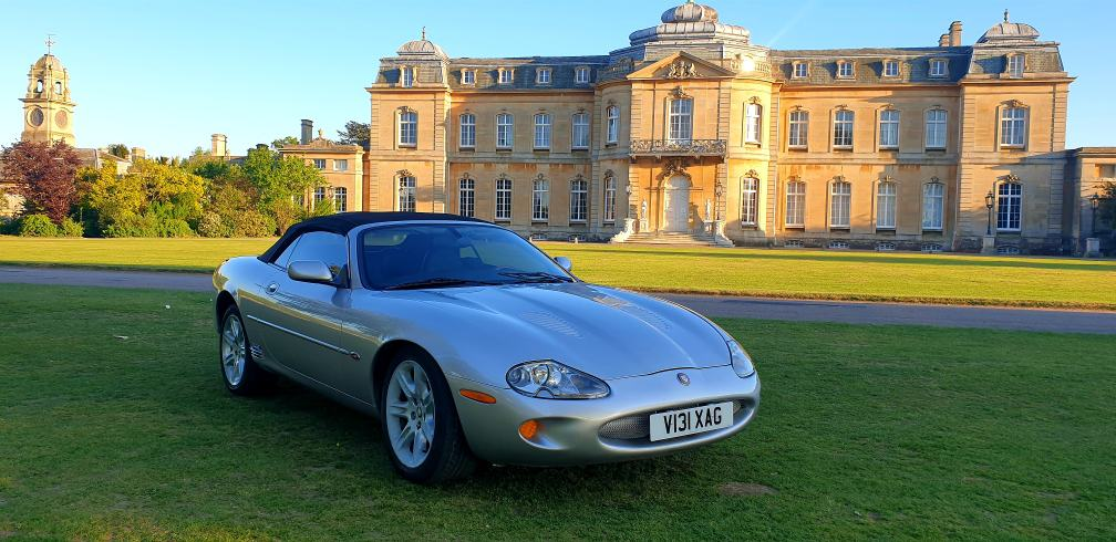 Original 2000 LHD Jaguar XKR 4.0 V8 Supercharged Convertible, LEFT HAND DRIVE