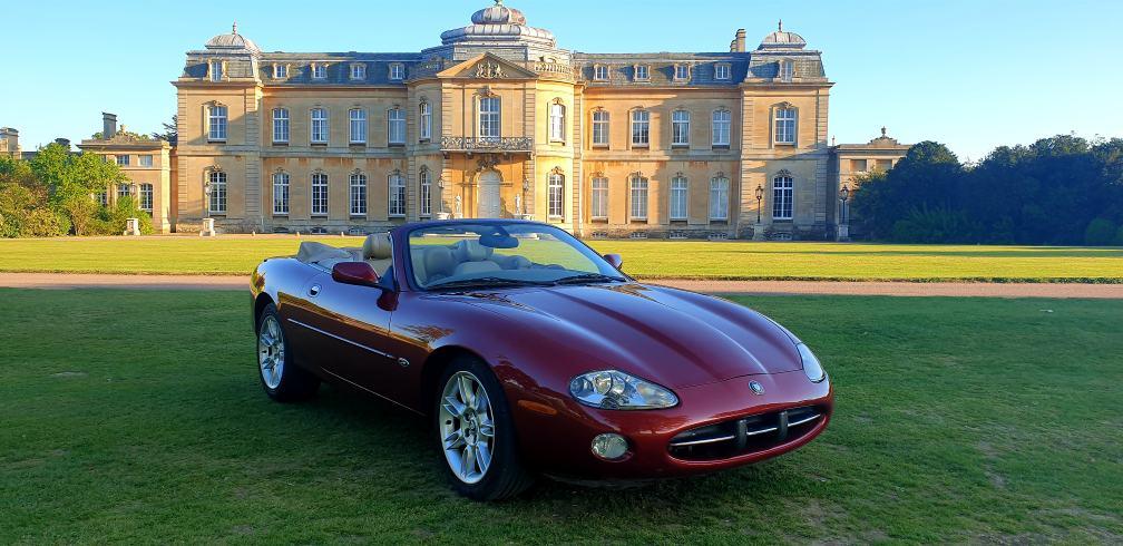 Original 2000 LHD Jaguar XK8 4.0 V8,Convertible, LEFT HAND DRIVE