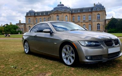 2007 LHD BMW 335i SPORT, 3.0 TWIN TURBO, CONVERTIBLE, LEFT HAND DRIVE