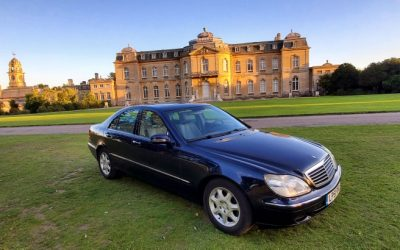 2002 LHD Mercedes S320 CDI, AUTO, UK REGISTERED, LEFT HAND DRIVE