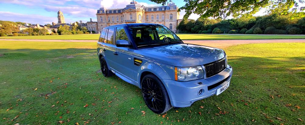 LHD 2007 RANGE ROVER SPORT 3.6 TDV8 4X4, AUTOMATIC, LEFT HAND DRIVE, SUPERCHARGED LOOK