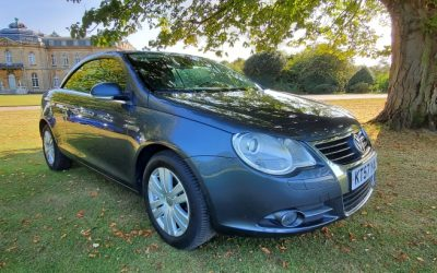 2008 LHD Volkswagen Eos 2.0 TDI, DSG Automatic, Convertible, Left Hand Drive