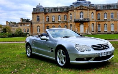 2002 Mercedes-Benz SL 500 AMG, R230 Convertible, Automatic