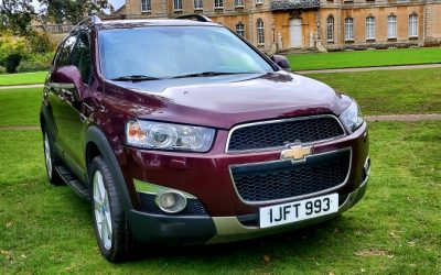 2012 LHD CHEVROLET CAPTIVA 2.0 VCDi, TURBO DIESEL, AUTOMATIC, 7 SEATER, LEFT HAND DRIVE