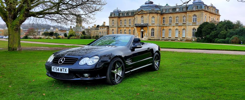 2005 LHD MERCEDES SL600, 5.5 TWIN TURBO, CONVERTIBLE, LEFT HAND DRIVE