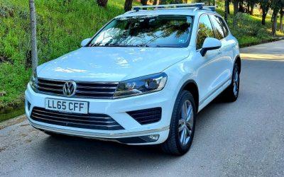 2016 (65) VOLKSWAGEN TOUAREG 3.0 V6 TDI, 4×4, BLUEMOTION TECHNOLOGY, 262 BHP