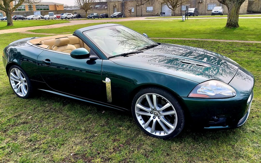 2008 LHD JAGUAR XKR 4.2, CONVERTIBLE, AUTOMATIC, LEFT HAND DRIVE