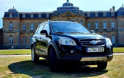 2008 LHD CHEVROLET CAPTIVA 2.0 VCDi, TURBO DIESEL, AUTOMATIC, 7 SEATER, LEFT HAND DRIVE, SPANISH REGISTRATION