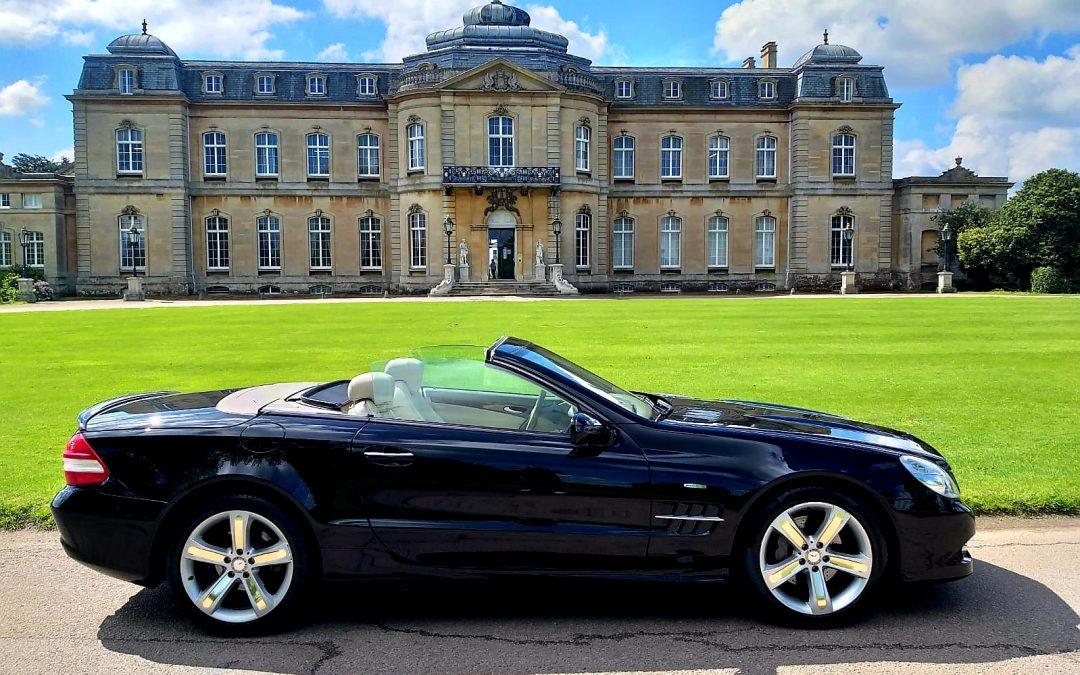 2008 LHD MERCEDES BENZ SL280, 3.0 V6 PETROL, HARD TOP CONVERTIBLE, LEFT HAND DRIVE