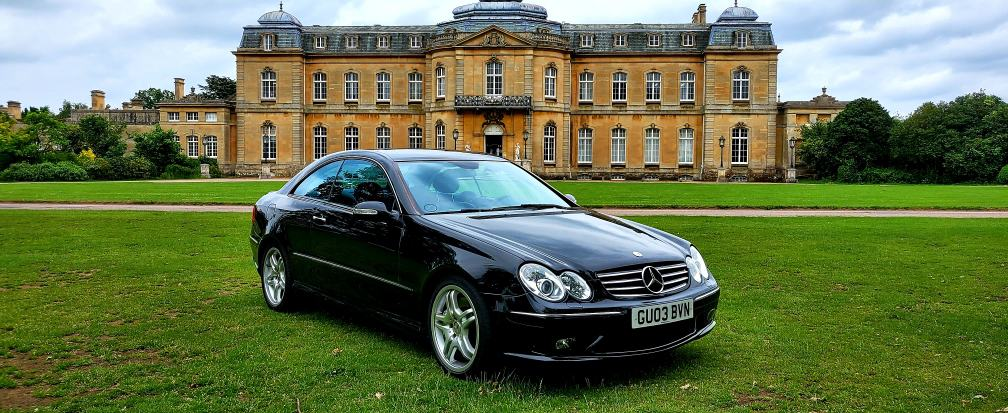 2003 LHD MERCEDES-BENZ CLK55 AMG 5.4 V8 TIP/AUTO, LEFT HAND DRIVE, 367 BHP Only one owner from new!!! Rare collectors item