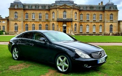 2007 LHD MERCEDES CLS 350 CDI, AUTO 7G TRONIC, 3.0 TURBO DIESEL, LEFT HAND DRIVE ON FRENCH REGISTRATION